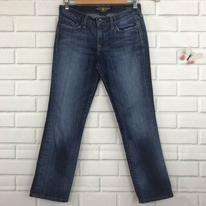 Lucky Brand Jeans Janet Sweet'n Straight Crop 2/26